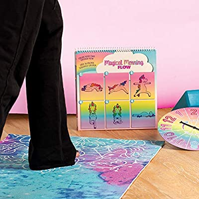 Fashion Angels Unicorn Yoga Activity Set (12292) Unicorn Game, Great for Birthdays, Outdoor Activities and More: Toys & Games