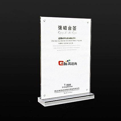 Metacrilato Acrílico Taiwán T-Tipo Soporte De Exhibición Precio ...