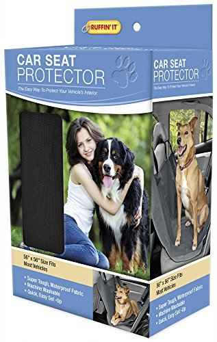 Cheap Ruffin It Car Seat Protector for Pets, Black
