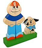 Unique Stacking Toy - Best Friends - Handcrafted and Hand-painted Wooden Ornament - 14 pc set