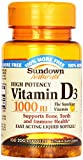 #5: Sundown, Vitamin D-1000 Iu Softgels, 100 ct