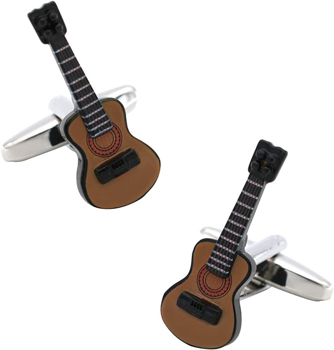 LYXPUAH Accesorios Música Gemelos Gemelos Amarillo Guitarra Violín ...
