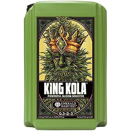 King Kola Emerald Harvest Nutrients 2 5 Gal