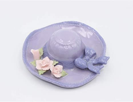 Cosmos Gifts 96383 Purple Hat with Flowers