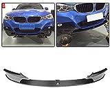 jcsportline fits BMW 3 Series F34 GT 320i 328i 330i 335i 340i M-Sport 2014-2018 Carbon Fiber Front Bumper Lip Chin Spoiler