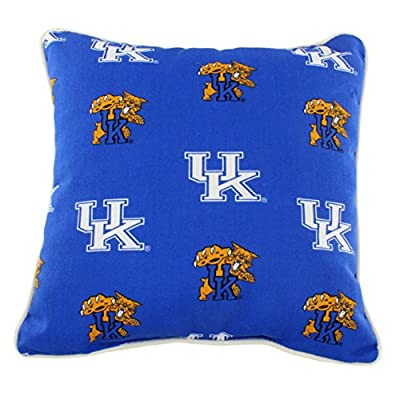 "College Covers KENODP Kentucky Wildcats Outdoor Decorative Pillow, 16"" x 16"", Blue"