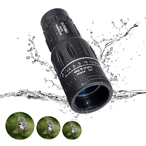 OUTERDO 10 Magnification 16x52 Dual Focus Monocular