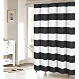 Amazon.com: Striped - Shower Curtains / Shower Curtains, Hooks ...