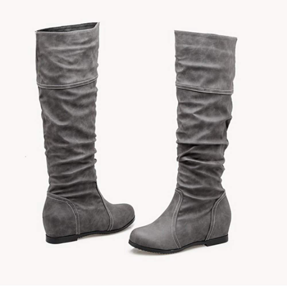 FMWLST Stiefel Damen Stiefel Lange Stiefel Hohe Hohe Hohe Stiefel Damen Winter Casual Stiefel  72e068
