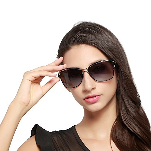 Dames Femmes Accessoires Lunettes Outdor Femmes encadré Soleil polarisé Black Mode pour Conduite de élégante Larged Baianf Color Eyewear Brown BH8zw4Wq