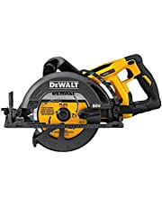 "DEWALT DCS577B FLEXVOLT 60V MAX 7-1/4"" Worm Drive Style Saw, Baretool"
