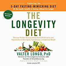 The Longevity Diet Audiobook by Valter Longo PhD Narrated by Keith Sellon-Wright