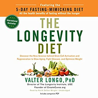 Amazon com: The Longevity Diet (Audible Audio Edition): Valter Longo