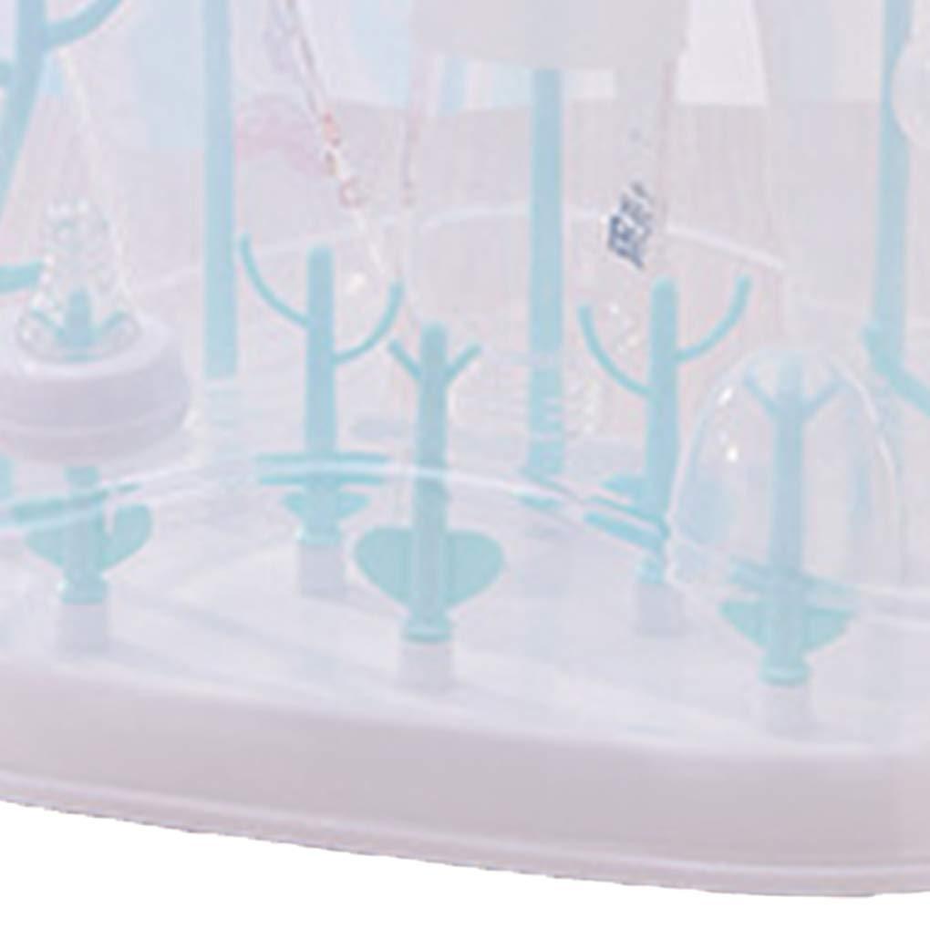 Beaums Forma Albero Bambino Biberon Stendino Copertura Antipolvere Infant Holder capezzoli Bagagli mensola Staccabile Ciuccio Tazza di Latte