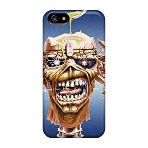 Awesome Iron Maiden Flip Case With Fashion Design For Iphone 6 plus
