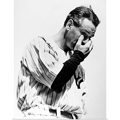 GREATBIGCANVAS Poster Print Entitled Lou Gehrig (1903-1941), Baseball Player by 12