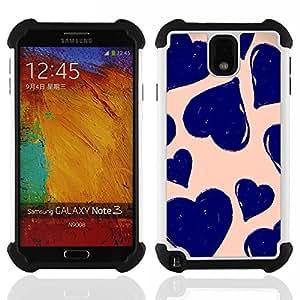 For Samsung Galaxy Note3 N9000 N9008V N9009 - daisy vignette art spring nature green Dual Layer caso de Shell HUELGA Impacto pata de cabra con im????genes gr????ficas Steam - Funny Shop -