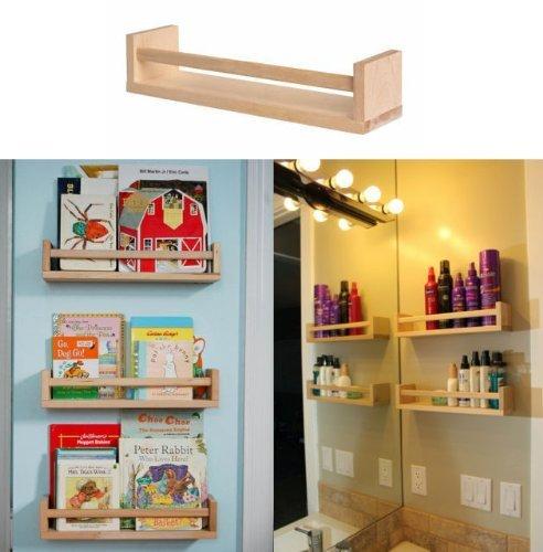 Ikea 10 Wooden Spice Racks Accessory Storage Organizer