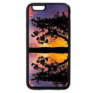 iPhone 6S Plus Case, iPhone 6 Plus Case, Colorful Sunset Lake, Sky & Tree