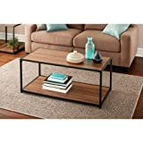 Mainstays Metro Coffee Table, Warm Ash Finish Add a Sleek Look to Your
