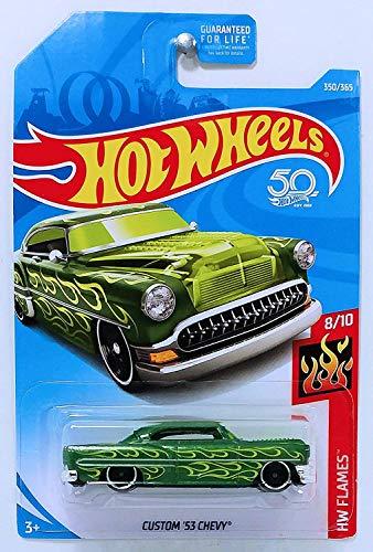 Hot Wheels 2018 50th Anniversary Hw Flames - Custom '53 Chevy (Green)