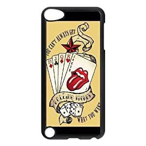 Band Poster The Rolling Stones Hard Plastic phone Case Cover FOR Ipod Touch 5 ART179898