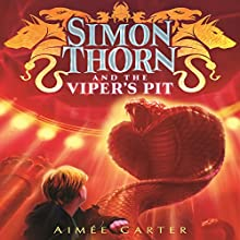Simon Thorn and the Viper's Pit Audiobook by Aimee Carter Narrated by William Dufris