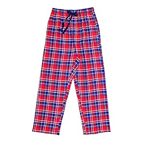 EverDream Sleepwear Mens Flannel Pajama Pants, Long 100% Cotton Pj Bottoms