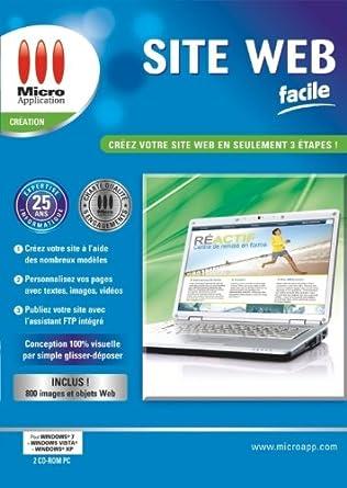 d1f8a6d0569 Site web facile  Amazon.fr  Logiciels