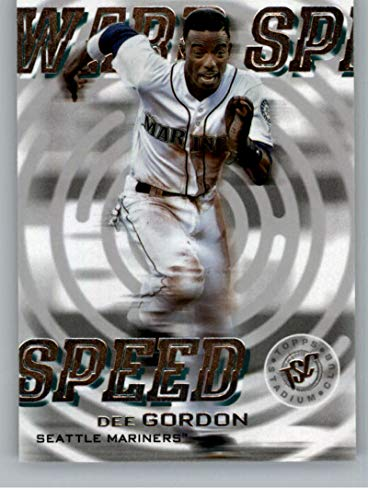 2019 Stadium Club Warp Speed Baseball #WS-13 Dee Gordon Auto Autograph Seattle Mariners ()