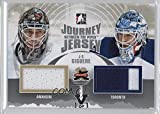 Jean-Sebastien Giguere #1/1 (Hockey Card) 2011-12 In the Game Between the Pipes - Journey Jersey - Silver ITG Vault Silver #JJ-06