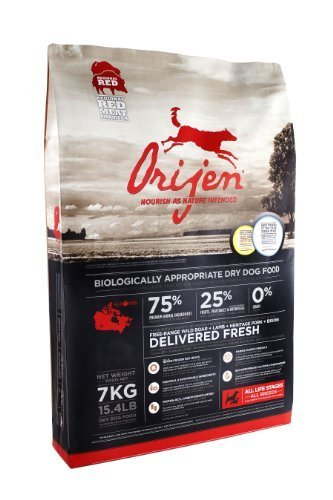Orijen Regional Red Grain-Free Dry Dog Food, 5.5lb by Champion Petfoods [Pet Supplies]