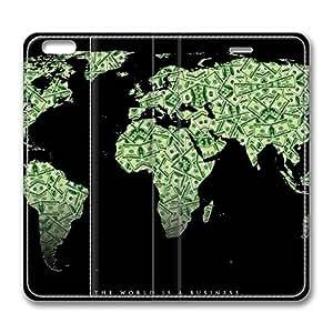 Brain114 5C, iPhone 5C Case, iPhone 5C Case, Money PU Leather Flip Protective Skin Case for Apple iPhone 5C