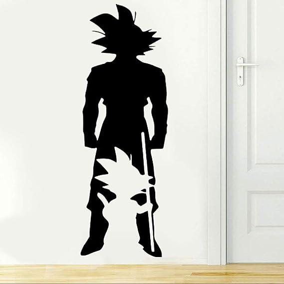 wanmeidp Goku Growing Style Tatuajes de Pared Dragon Ball Z ...