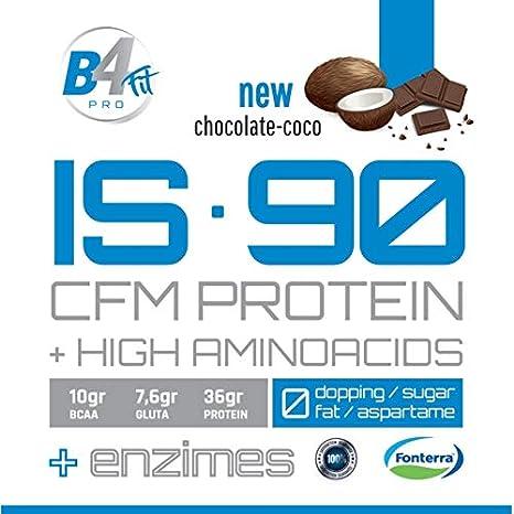 IS-90 CFM PROTEIN 90% 1 kg CHOCOLATE-COCO: Amazon.es: Salud ...