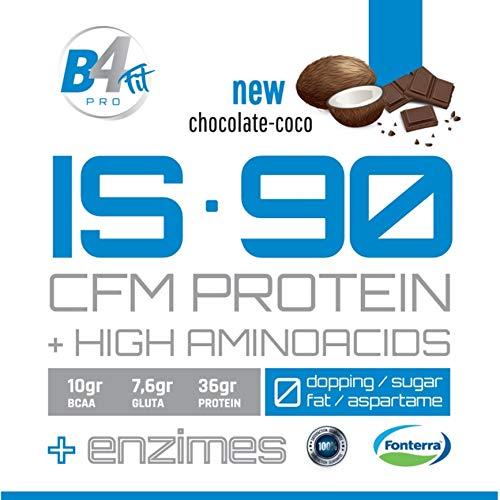 IS-90 CFM PROTEIN 90% 1 kg CHOCOLATE-COCO: Amazon.es: Salud y ...