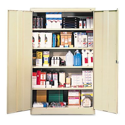 Jumbo Cabinets, Box 1 of 2, 48w x 24d x 78h, Putty, Sold as 1 Each