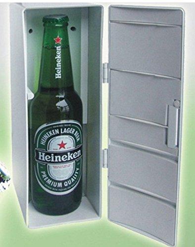 Amazon.es: x-eplan verano uso Mini frío cálido USB Nevera bebida ...