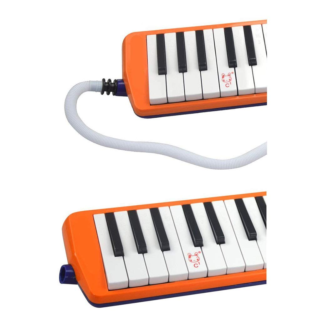 Melodica Musical Instrument 36 Keys Keyboard Cartoon Style Piano Melodica with Portable Carrying Case Kids Musical Instrument Gift Toys for Kids Music Lovers Beginners Mouthpieces Tube Sets for Music by Kindlov-mus (Image #4)