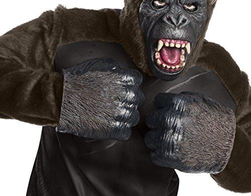 Rubie's Costume Co Men's Skull Island King Kong Foam Hands, As Shown, One Size