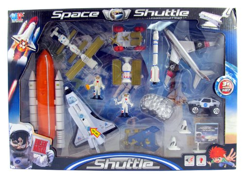 Mission To Mars Space Shuttle Playset For Kids With