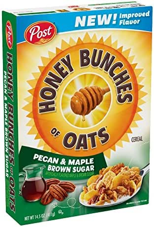 Breakfast Cereal: Honey Bunches of Oats