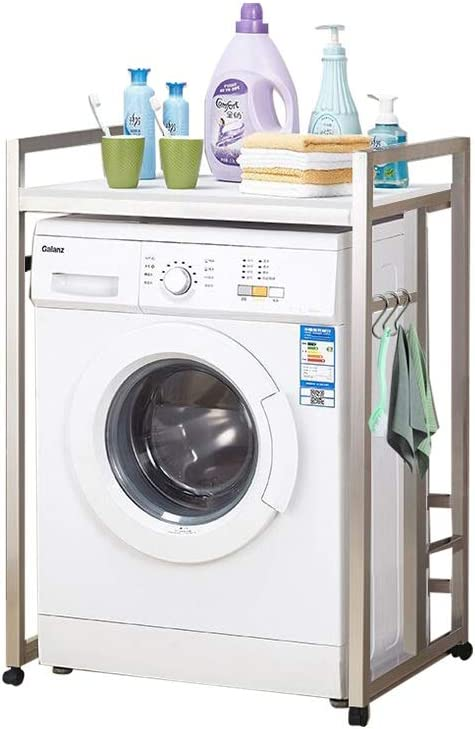 Rack de almacenamiento para lavadora, con ruedas - Repisa de baño ...