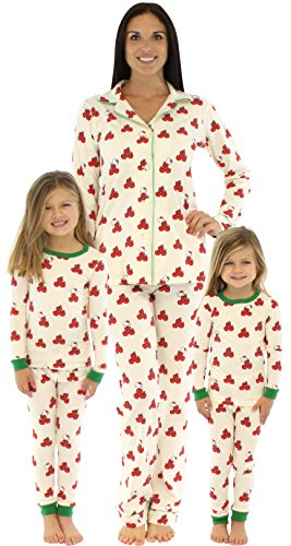 Bedhead Mommy & Me Hello Kitty Apples Pajamas - (Mommy And Me Matching Pajamas)