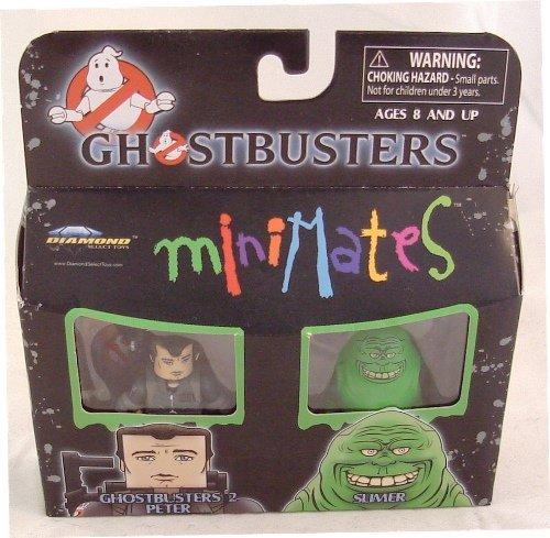 Ghostbusters Minimates Mini Figure 2Pack Ghostbusters 2 Peter Venkman Slimer