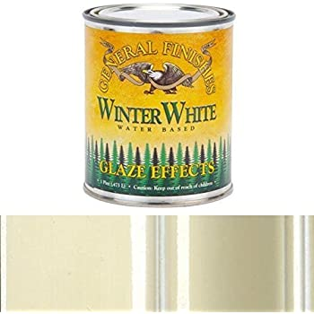 General Finishes Yellow Ochre Glaze Effects Pint (Winter White, Pint)