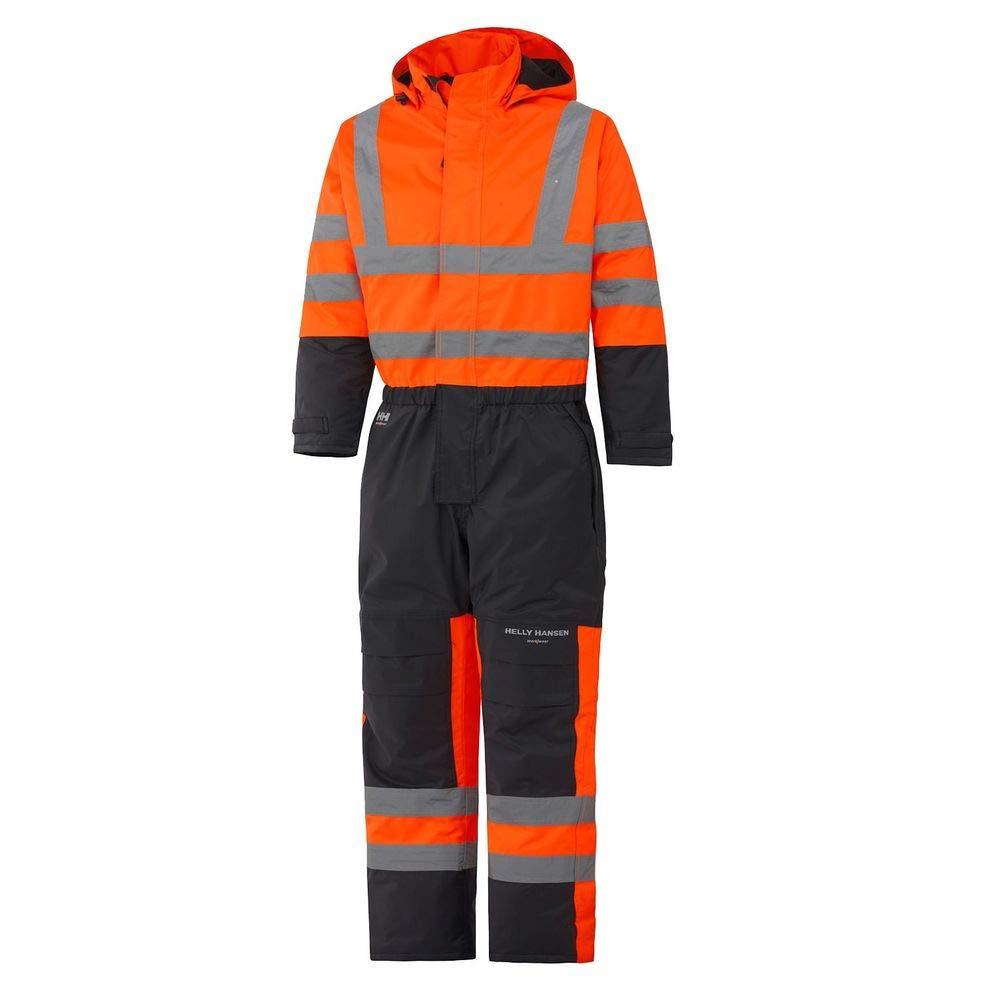 Helly Hansen 70665 _ 269-c44 taglia C44 'Alta tuta termica' ad alta visibilità  –  arancione/charcoal-p, Size C44, Hv Orange/Charcoal Helly Hansen Workwear 70665_269-C44