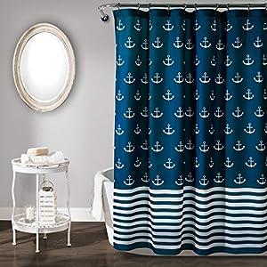 51LT-dI6%2BGL._SS300_ Beach Shower Curtains & Nautical Shower Curtains