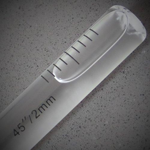 Replacement Level Glass Vial, Spirit Bubble