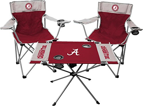 NCAA Alabama Crimson Tide Tailgate Kit, Team Color, One Size by Jarden